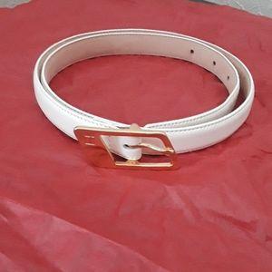 Ladies  thin leather belt